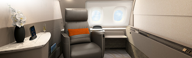 Singapore Airlines A380 New Suites