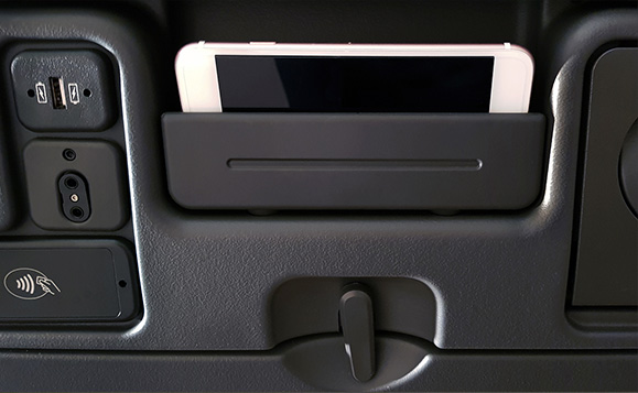 Economy Stowage Compartments