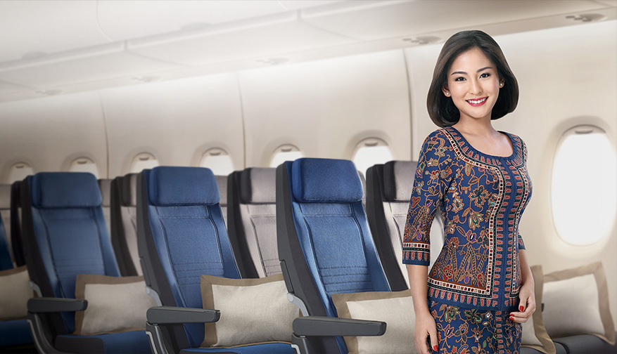 Singapore Airlines A380 New Economy Class