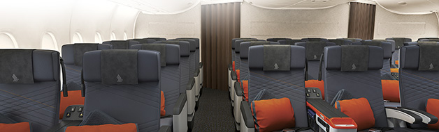 Singapore Airlines A380 New Premium Economy Class